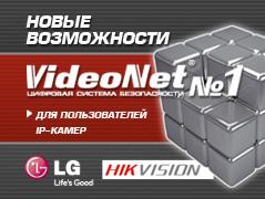 Новости платформы Total.IP: VideoNet теперь поддерживает LG и Hikvision
